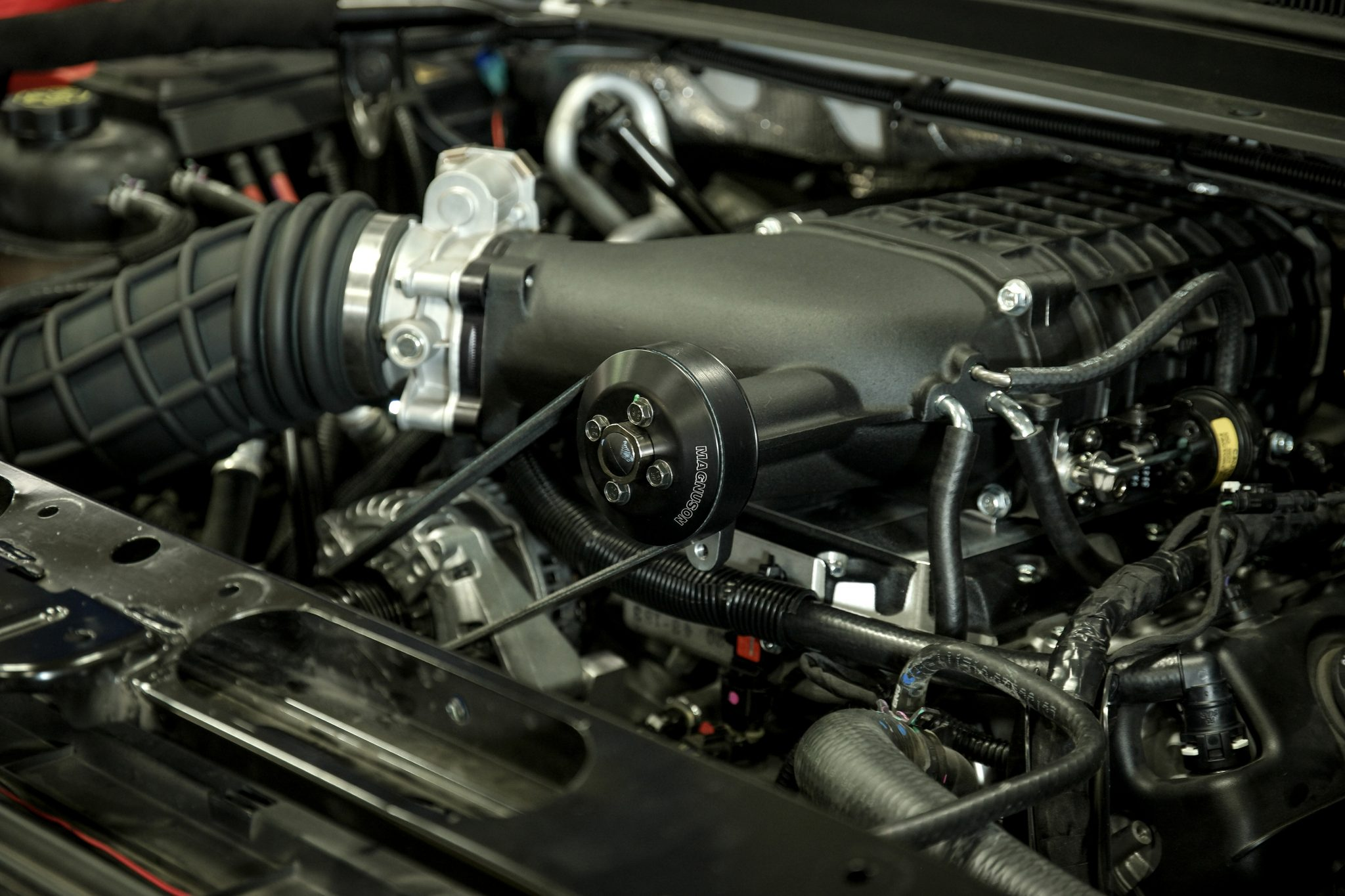 Streetable ford engine auto revolution charged up gaining over 100 horsepower with a magnuson tvs1900 supercharger sciox Choice Image